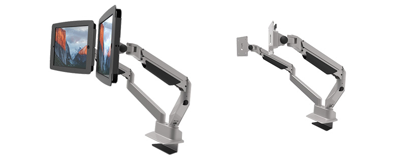 Reach Dual Screen Articulating Monitor Arm Mount