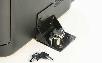 Ultimate Security Equipment Bracket Lock including peripheral security